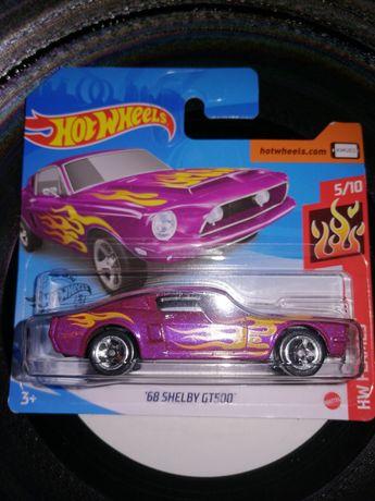 """Hotwheels """"68 shelby gt500"""