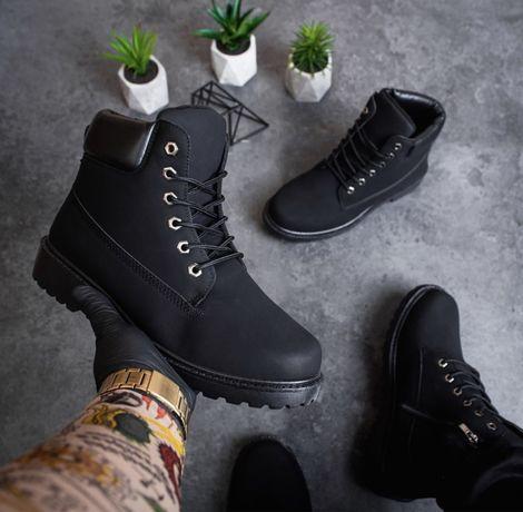 Распродажа Мужские Зимние Ботинки на Меху под Timberland (41-46 размер