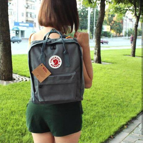 Рюкзак канкен, сумка, портфель Fjallraven Kanken + Подарок!
