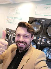 Máquina de lavar roupa Self service e secar