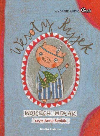 Bajka Wesoły Ryjek MP3 audiobook dla dzieci czyta Anna Seniuk