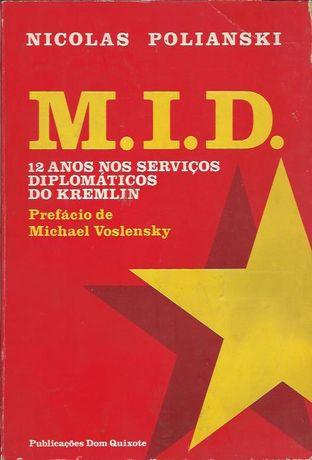 M.I.D. 12 anos nos serviços diplomáticos do Kremlin_Nicolas Polianski