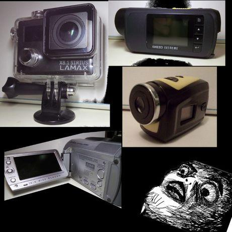 wielki zestaw kamer sportowych + gratisy ! nowa cena !