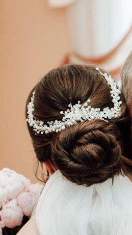 Свадебное украшение в волосы