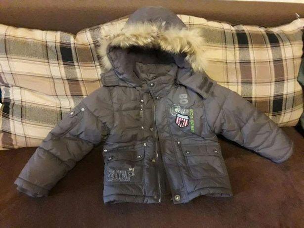 *Теплая, качественная зимняя курточка фирмы QiQi/размер 3/98*