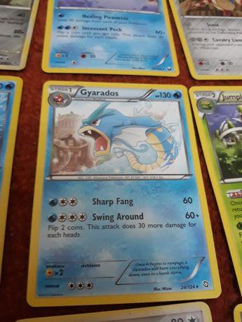 254 cartas Pokemon todas diferentes, vários sets
