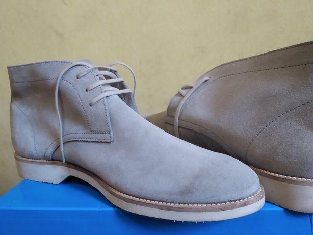 Итальянские туфли ботинки 45р Pollini