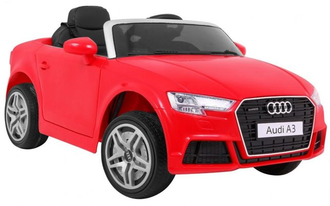 Samochód Audi A3 Czerwony na akumulator dla dzieci