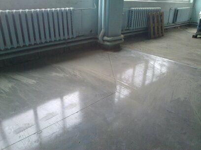 Заливка бетонных поло, стяжек. Ремонт старых бетонных поверхностей .