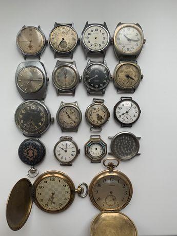 Часы механические старинные Longines, Tissot, Ruhla,Thiel, секундомеры