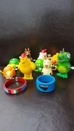 Zestaw nakręcanych zabawek 10szt + gratis