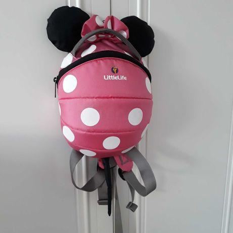 Plecaczek LittleLife Disney Myszka Minnie - PINK plecak 1+