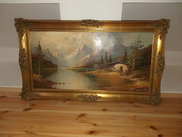 Картина Gustav Weiss GUWE 1886 Оригінал, Альпи