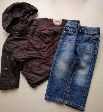 Цена за все: куртка,ветровка, джинсы р.92, 24,1,5-2 мальчику