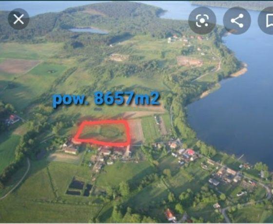 Działka usługowo turystyczna budowlana jezioro