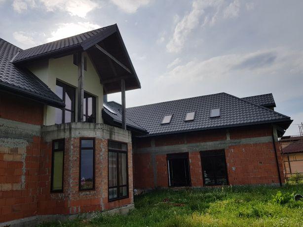 Dachy,Krycie dachów.Usługi dekarskie, więźba dachowa,remonty dachów