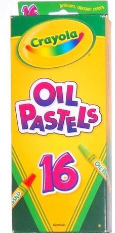 Масляная пастель Crayola 16 цветов