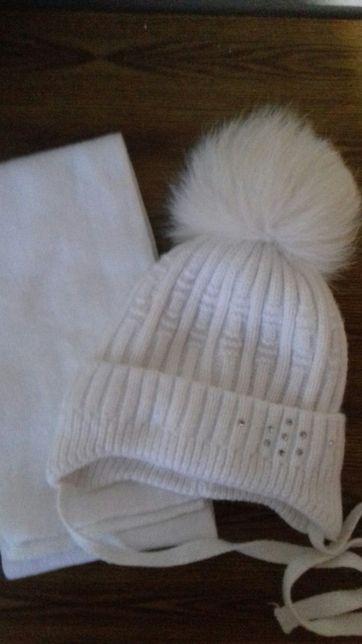 Шапка+шарф на 2-3роки, зимовий к-т