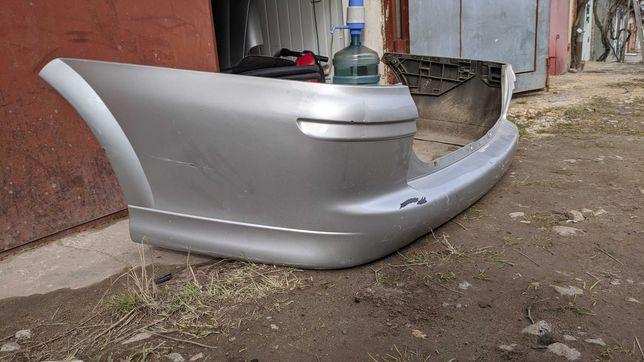 Задний бампер Опель Вектра Б универсал серый рестайл