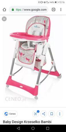 Krzesełko do karmienia bambi
