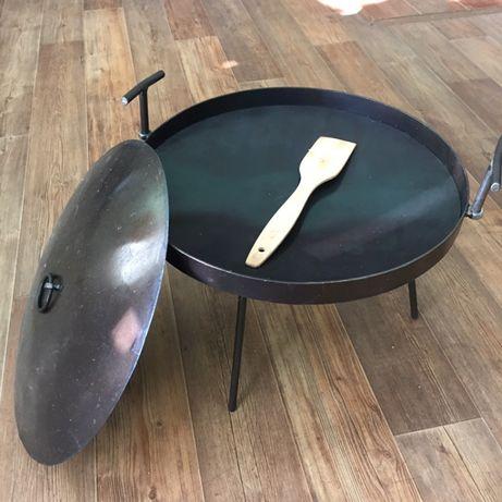Вигідна ціна! Сковорода з диска: мангал, барбекю, гриль. 50 і 40 см.