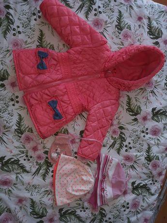 Ubranka dla dziewczynki r.68