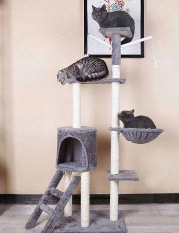 Drapak dla kota Domek