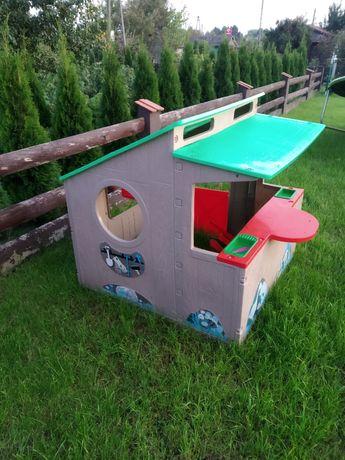 Domek ogrodowy plastikowy