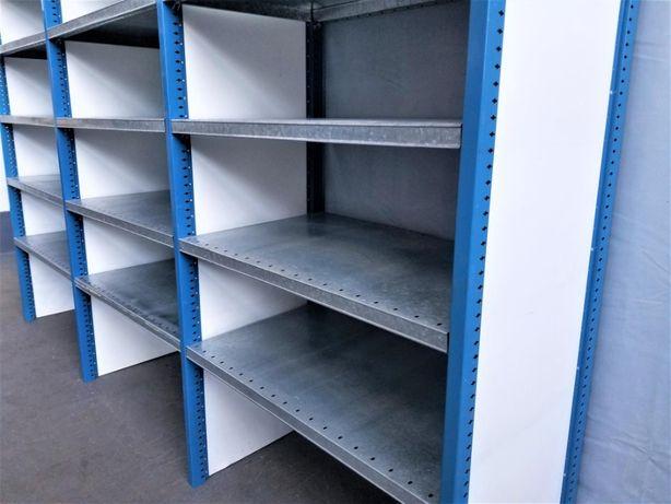 REGAŁ 60x260x303cm/21p Magazynowy Metalowy Półkowy Garażowy-OKAZJA!