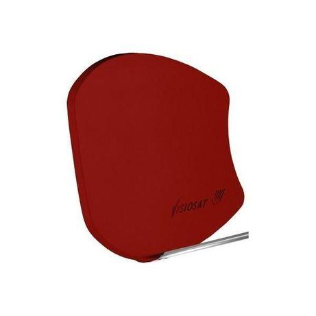 parabolica fibra Cahors/bisat G4 Vermelha