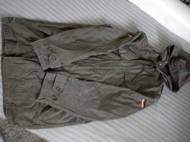 Kurta militarna khaki dluga caloroczna L/XL Stan bdb