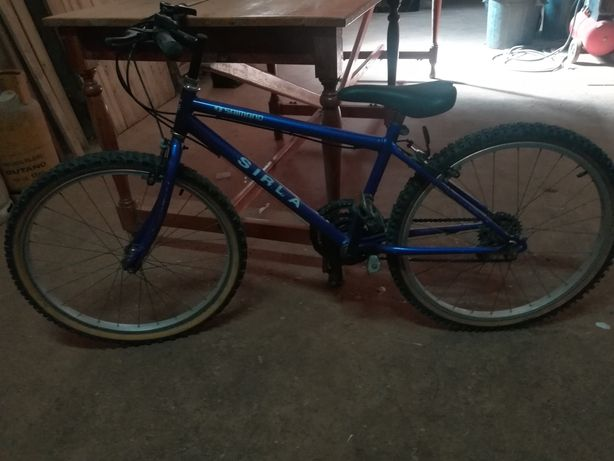 Bicicleta Shimano roda 24