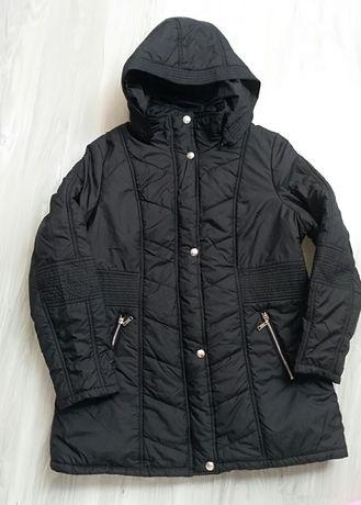 Wyprzedaż! Nowa Czarną kurtka zimowa XL