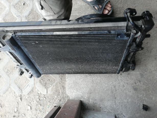 Skoda Fabia 1 chłodnica wody klimatyzacji wentylator komplet wysyłka