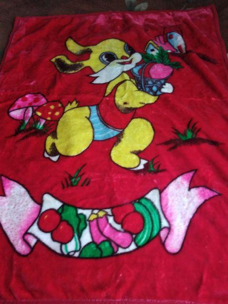 Продам детский плед- одеяло 140*110