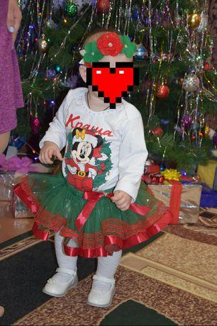 Новогодний наряд на девочку