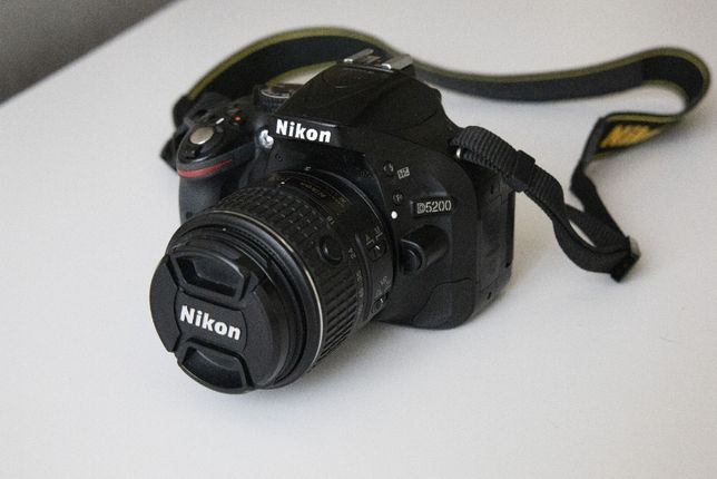 Фотоаппарат Nikon D5200 + 18-55mm VR II Black Kit Официал +аккумулятор