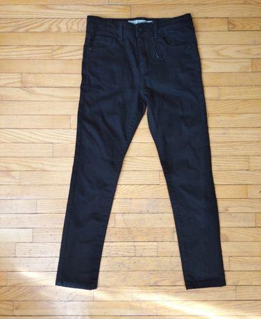 Штани нові джинси чорні Denim 128-134p.