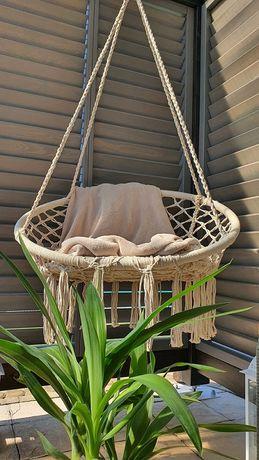 Fotel brazylijski wiszący bocianie gniazdo huśtawka