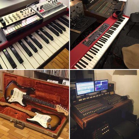 Студія звукозапису, написання пісень, аранжувань, запис, демо
