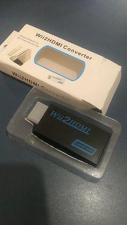 Conversor Wii HDMI em preto | SELADO