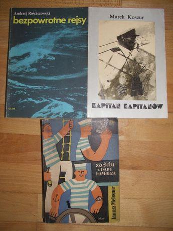 Książki żeglarskie i marynistyczne
