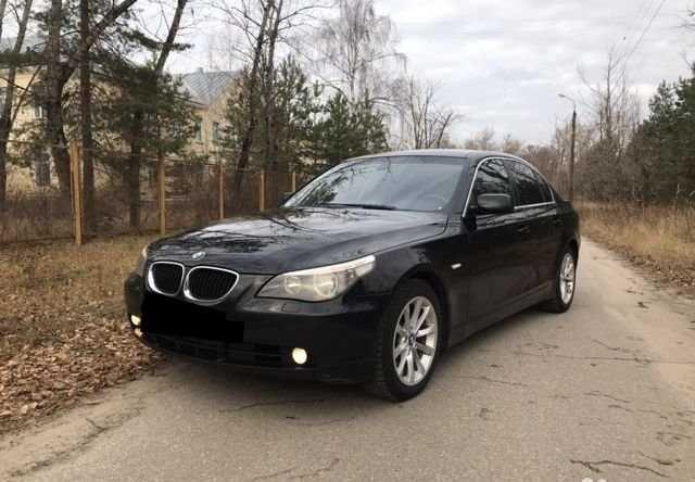 BMW 520D E60 не розтаможен