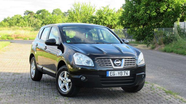 Nissan Qashqai 2.0 Benzyna 4x4, 169 tys km, ASO, Bezwypadkowy
