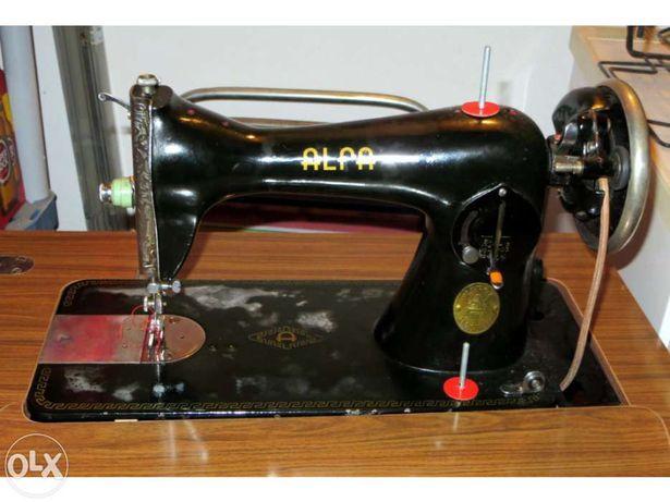 ALFA Máquina de costura antiga