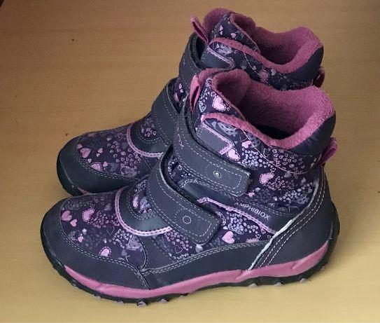 GEOX 35р (23см) зимові ботинки черевики чоботи