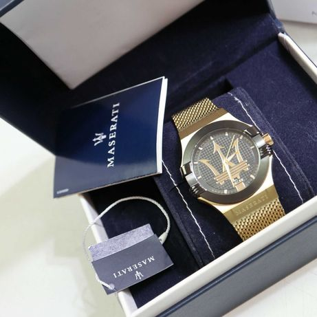 Relógio espectacular da marca Maserati - NOVO !