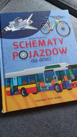 Schematy pojazdów dla dzieci Zakrzewski NOWA auta rower SUPER