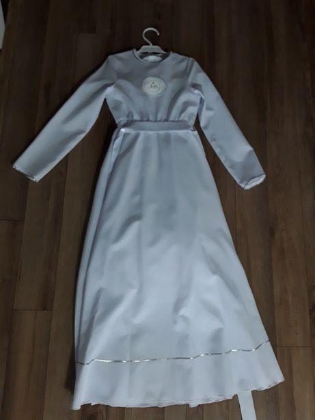 Alba/sukienka komunijna/zestaw buty +wianek