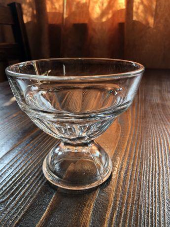 креманка стікляна, стакани, бакали, чашка латте